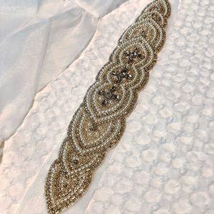 Mikaella bridal wedding belt (never worn)